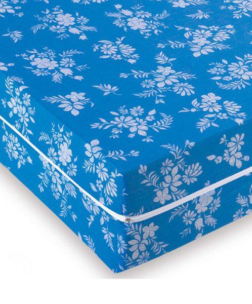 Funda colchón azul con cremallera <br>(ref. 011 005 001)